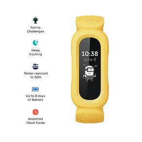 Fitbit Ace 3 Minions Yellow