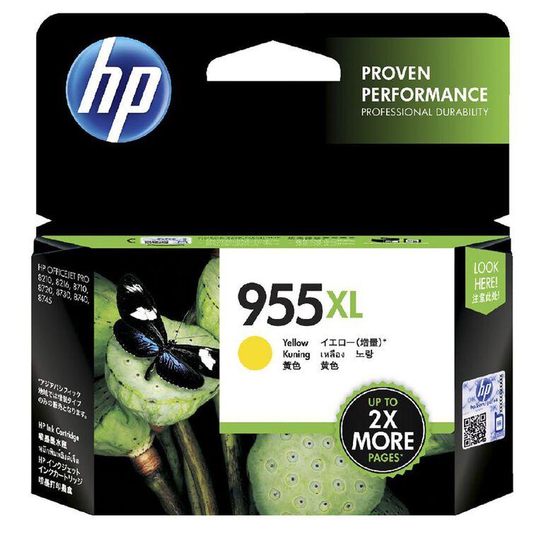 HP 955XL Ink - Yellow, , hi-res