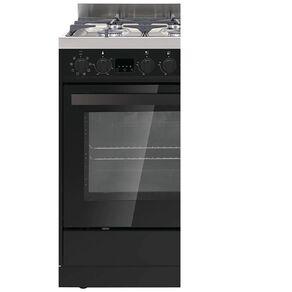 Eurotech 60cm Freestanding Oven - Black