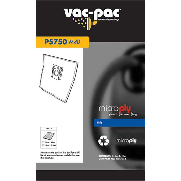 Vac-Pac Microply Fabric Vacuum Bag, , hi-res