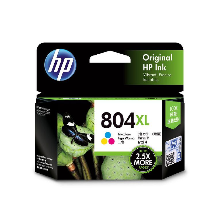 HP 804XL Ink Tri-Colour, , hi-res