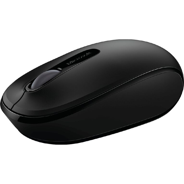 Microsoft Wireless Mobile Mouse 1850 Coal Black, , hi-res