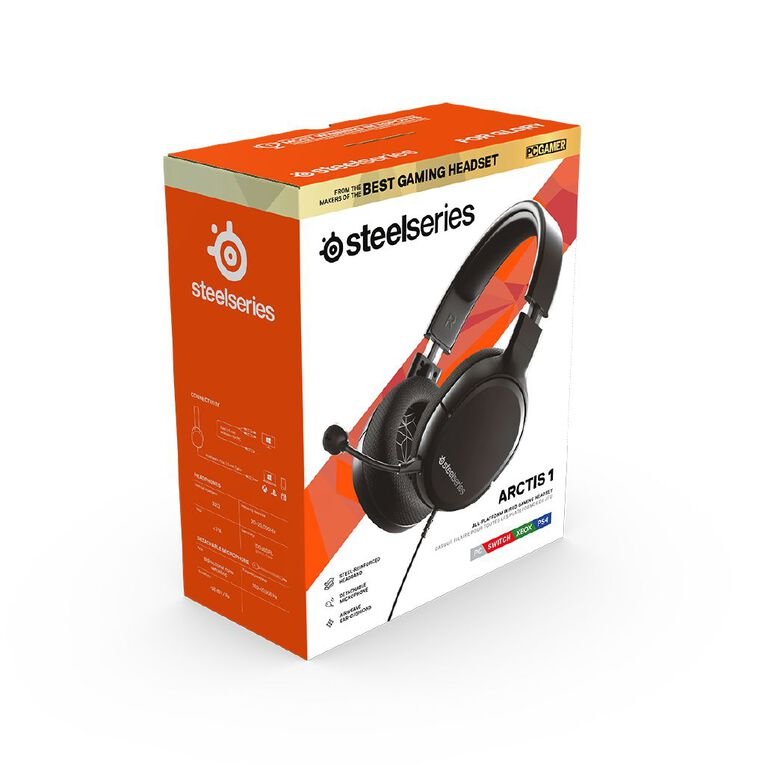 Steelseries Arctis 1 Universal Gaming Headset - Black, , hi-res