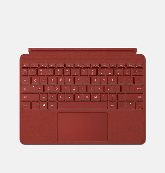 Microsoft Surface Go Type Cover - Poppy Red