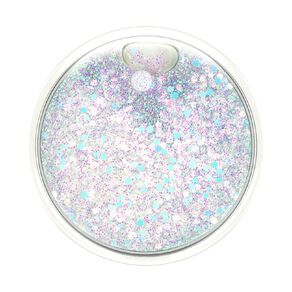 Popsockets PopGrip Luxe Tidepool Halo White