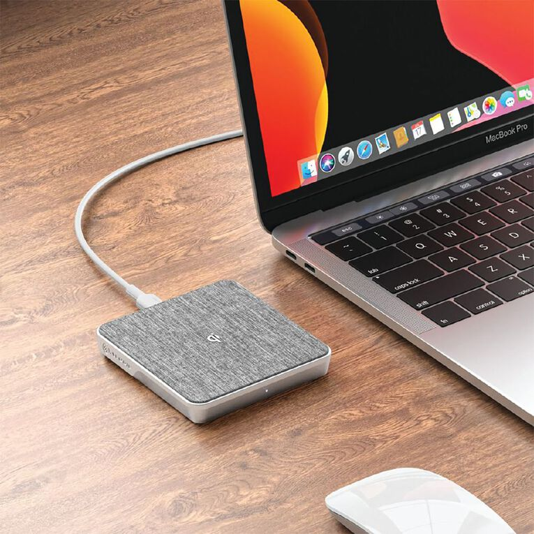 ALOGIC Ultra Wireless Charger W/ Wall Charger+1m USB-A To USB-C Cable, , hi-res