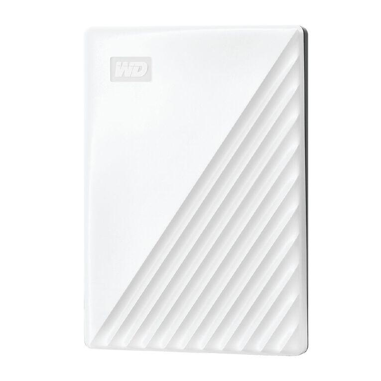 WD My Passport 1TB USB 3.0 External HDD - White, , hi-res