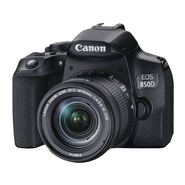 Canon EOS 850D DSLR Camera with 18-55mm Lens, , hi-res