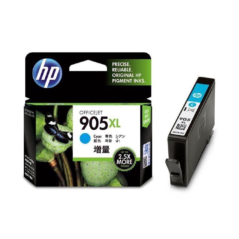 HP 905XL Ink - Cyan, , hi-res