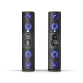 Altec Lansing Power Duo Bluetooth Tower Speakers