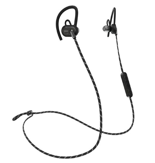 Marley Uprise Bluetooth In Ear Sports Headphones - Black