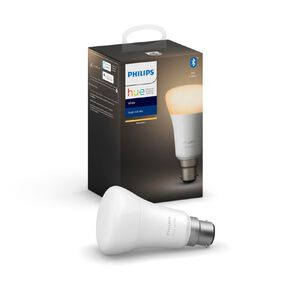 Philips Hue Warm White 9W A60 B22 Bulb