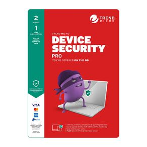 Trend Micro Device Security Pro 2 Device 1 Year Subscription Add-On Tech Solutions