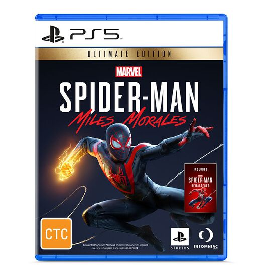 PlayStation 5 Ultimate Edition Marvel's Spider-Man: Miles Morales