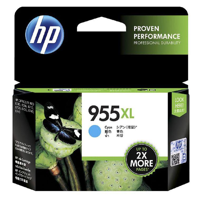 HP 955XL Ink - Cyan, , hi-res