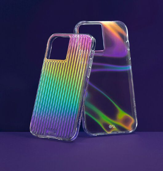 Casemate Tough Groove Micropel iPhone 12/12 Pro Iridescent