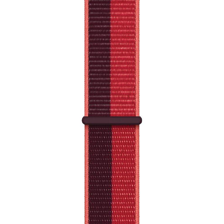 Apple 45mm (PRODUCT)RED Sport Loop - Regular, , hi-res