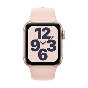 Apple Watch SE 40mm GPS Gold Aluminium Case with Pink Sand Sport Band