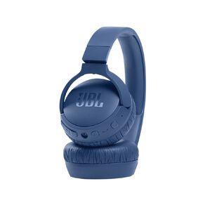 JBL T660 Wireless On-Ear Noise-Cancelling Headphones - Blue