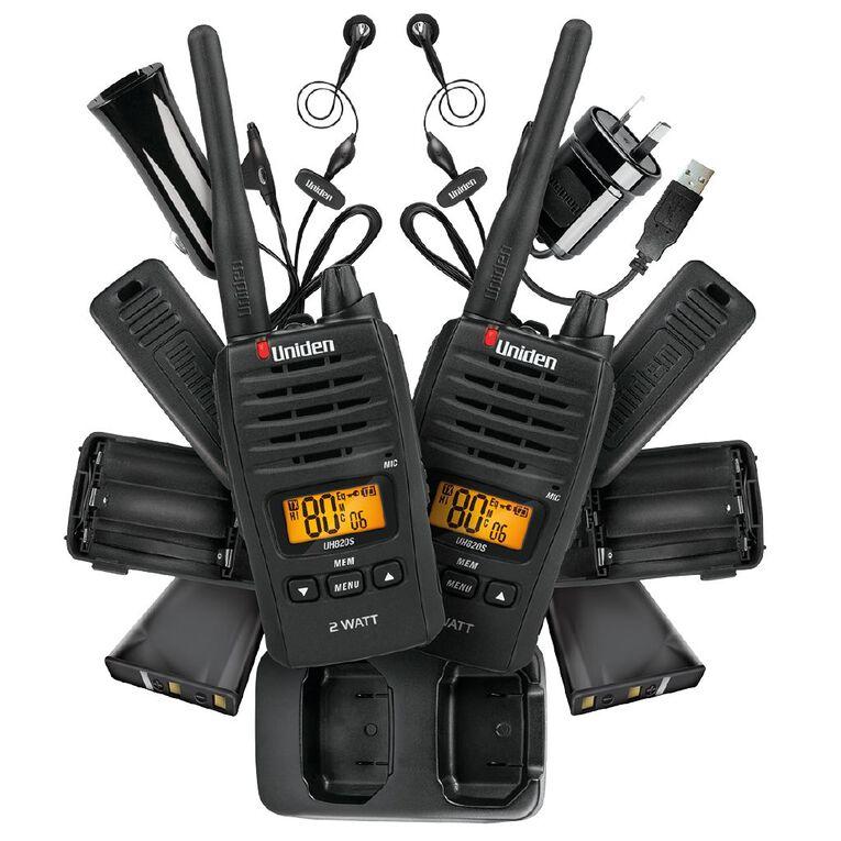 Uniden UH820S-2 UHF Handheld Radio, , hi-res