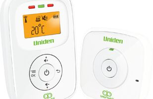 Uniden BW130 Baby Audio Monitor With Temperature