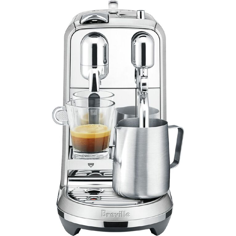 Nespresso Creatista Plus BNE800BSS Coffee Machine by Breville, Stainless Steel, , hi-res