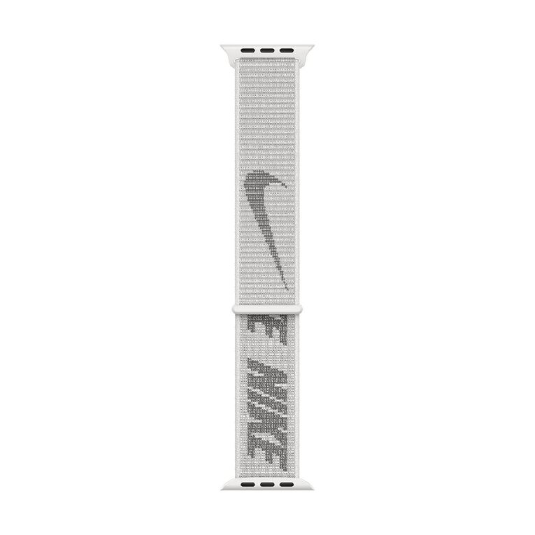 Apple 45mm Summit White Nike Sport Loop - Regular, , hi-res