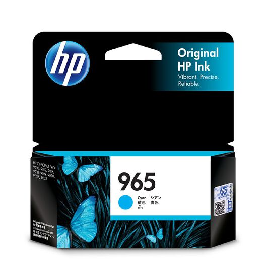 HP 965 Original Ink - Cyan