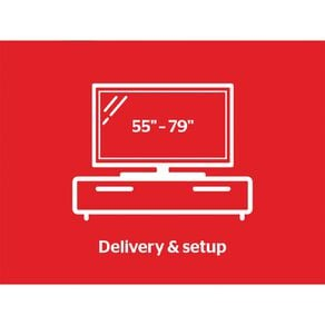 """Tech Solutions TV Delivery & Set Up Service 55"""" - 79"""""""