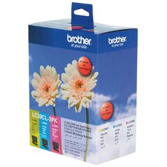 Brother LC39CL3PK Ink Tri-Colour