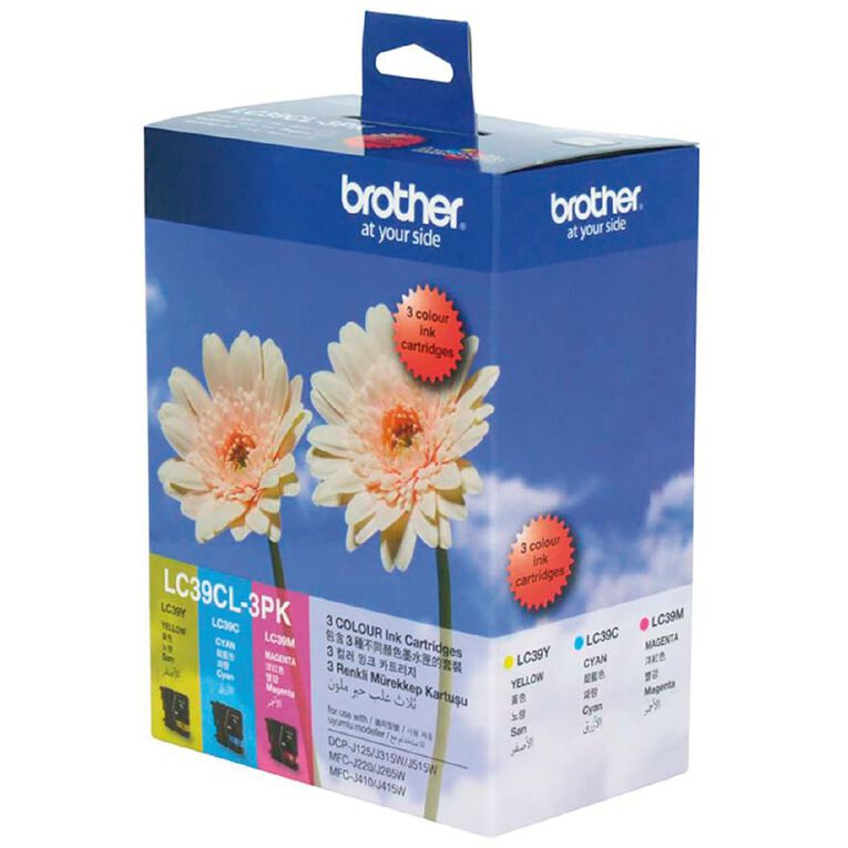 Brother LC39CL3PK Ink Tri-Colour, , hi-res
