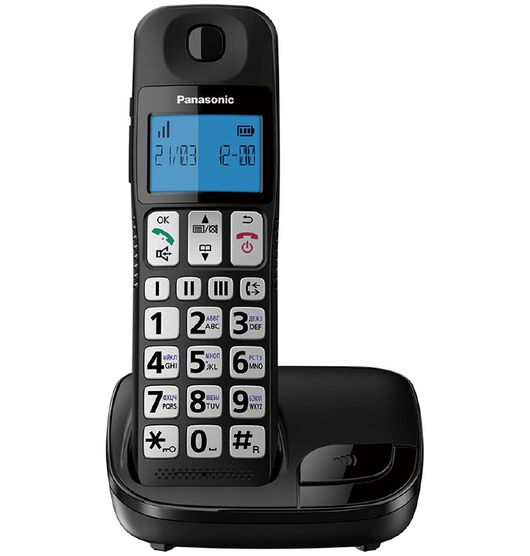 Panasonic KX-TGE110NZB Big Button Cordless Phone