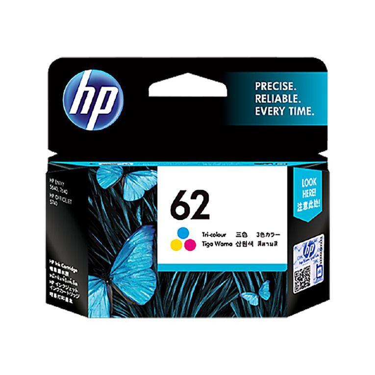 HP NO.62 Ink - Tri-Colour, , hi-res