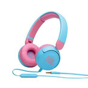 JBL JR310 Kids on-ear wired Headphones Blue