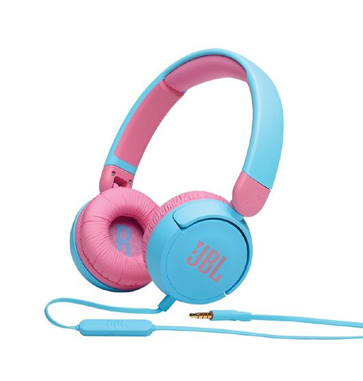 JBL JR310 Kids on-ear wired Headphones Blue