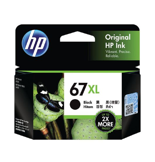 HP Original Ink Cartridge - 67XL Black