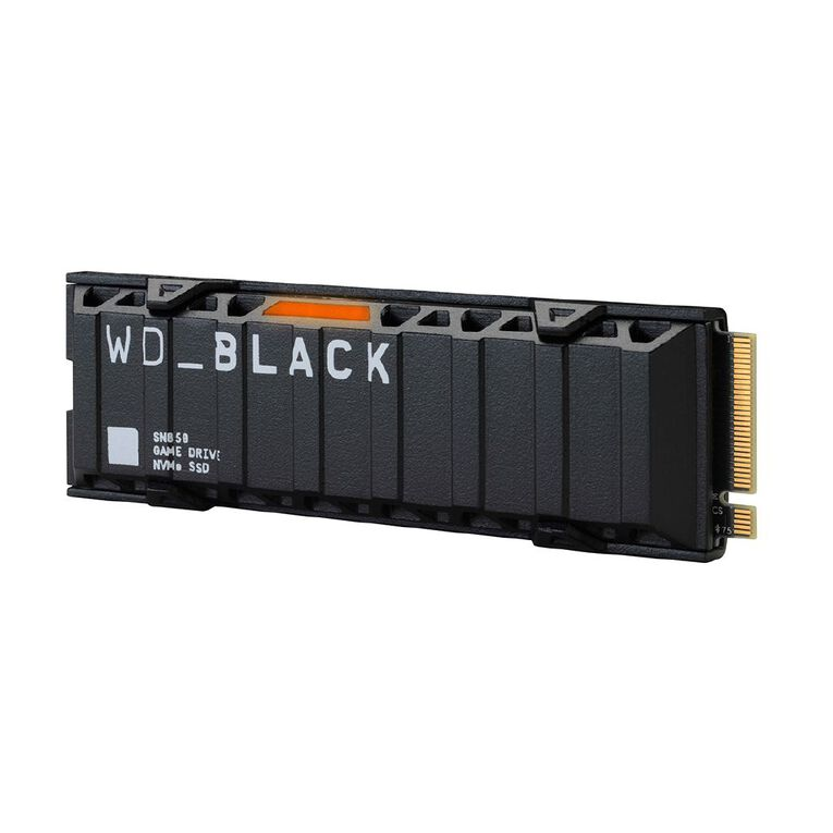 WD Black SN850 NVME 500GB SSD with Heatsink, , hi-res