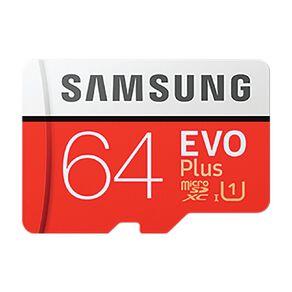 Samsung Evo Plus MicroSD Card 64GB w/Adaptor (2020)