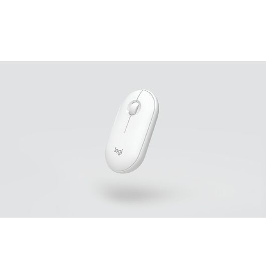 Logitech Pebble Wireless Mouse - White