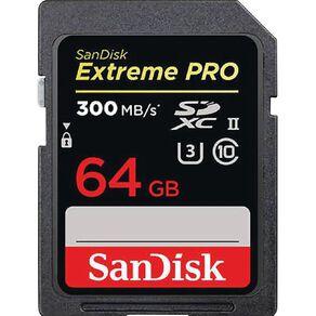 Sandisk Extreme Pro SDXC/SDXDK 64GB