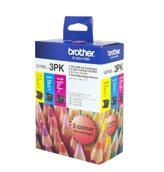 Brother LC73CL3PK 3 Pack Ink Cartridges