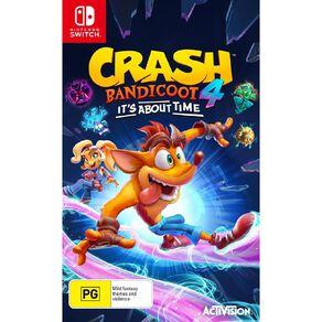 Nintendo Switch Crash Bandicoot 4: It's About Time