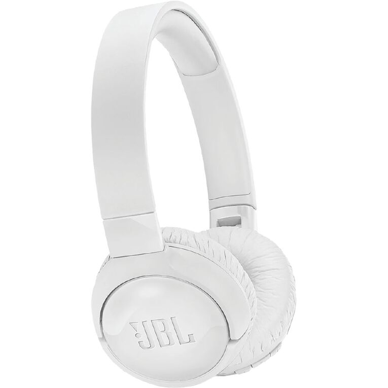 JBL Tune 600 Wireless Noise Cancelling On Ear Headphones - White, , hi-res