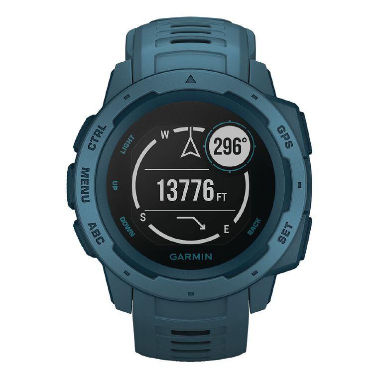 Garmin Instinct Smartwatch Lakeside Blue, , hi-res
