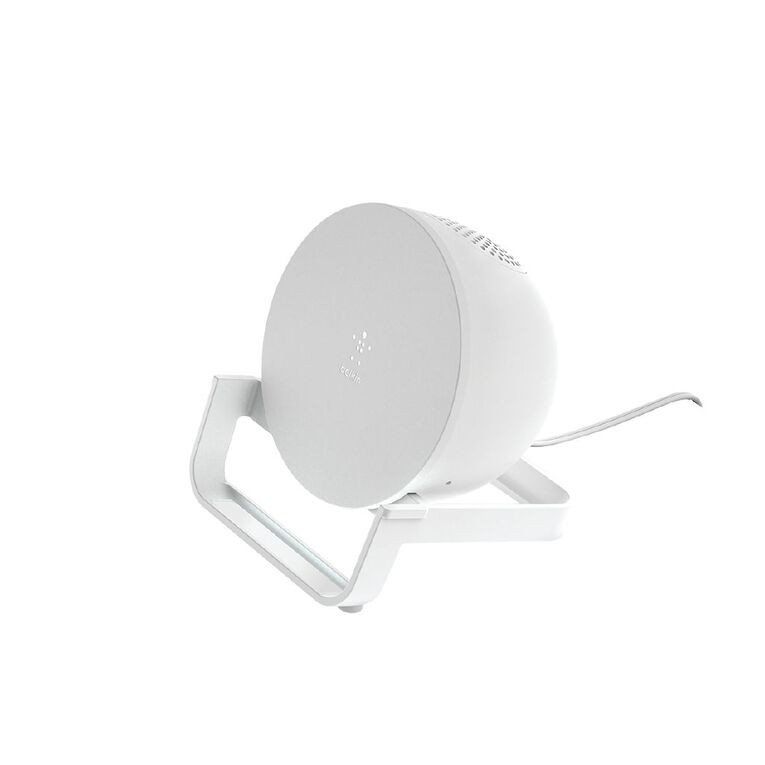 Belkin Boost Up Charge Wireless Charging Stand + Speaker - White, , hi-res