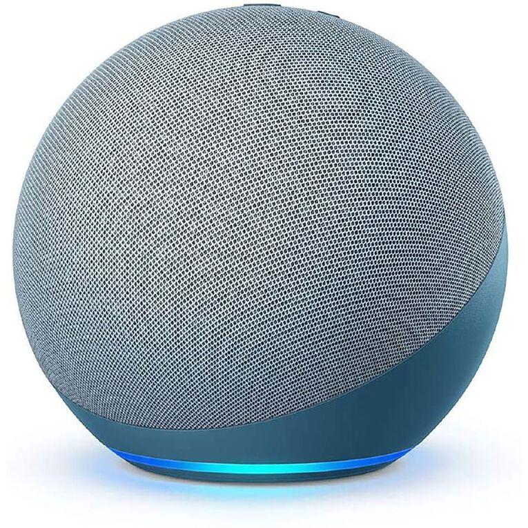 Amazon Echo 4th Gen with Premium Sound, Smart Home Hub & Alexa Twilight Blue, , hi-res