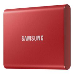 Samsung T7 Portable SSD - 1TB Metallic Red