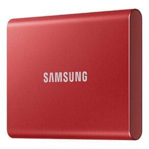 Samsung T7 Portable SSD - 1TB Metallic Red