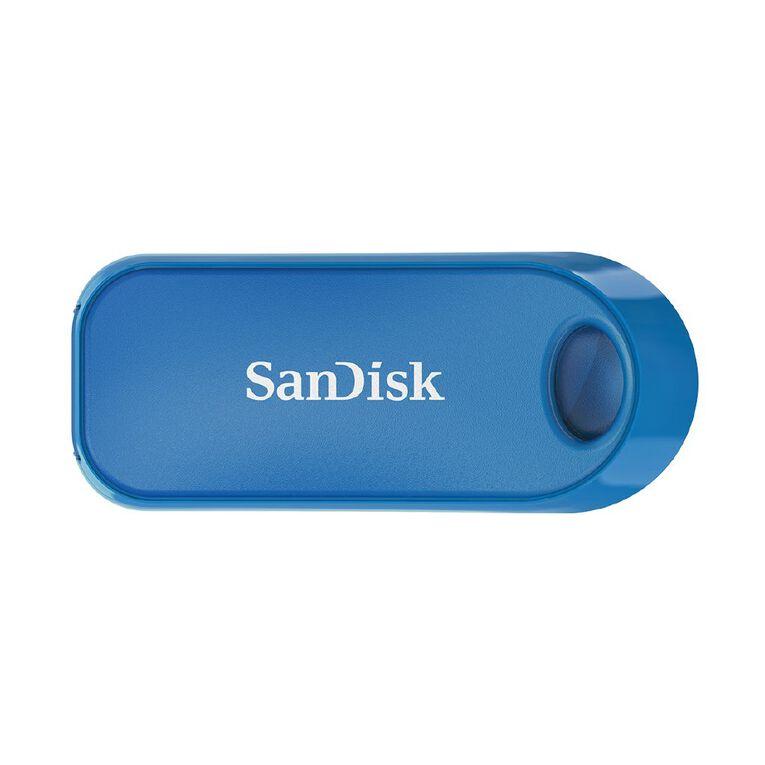 Sandisk Cruzer Snap USB2.0 Flash Drive Blue - 32GB, , hi-res