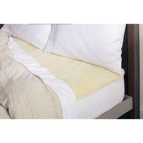 Sunbeam Sleep Perfect Wool Fleece King Electric Blanket